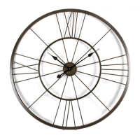 Giant Metal Wall Clocks: Big Wall Clocks - WWW.TOP-CLOCKS.COM