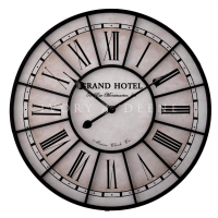 Large Metal Antique Wall Clock: Large Wall Clocks - WWW ...