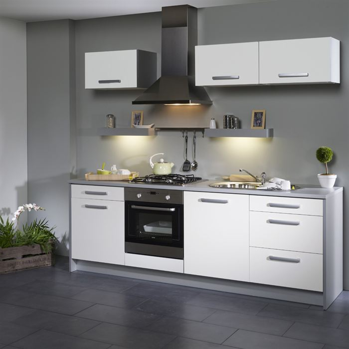 cuisine blanche et grise top cuisine