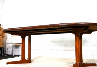 Danish Teak Dining Table Round