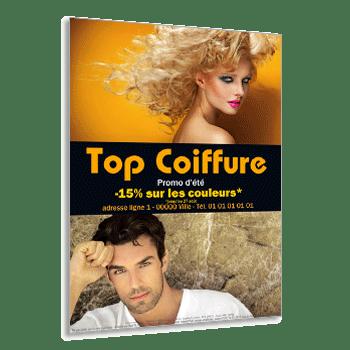 Impression De Flyers Coiffeur Salon De Coiffure Amp Institut De Beaut Sur
