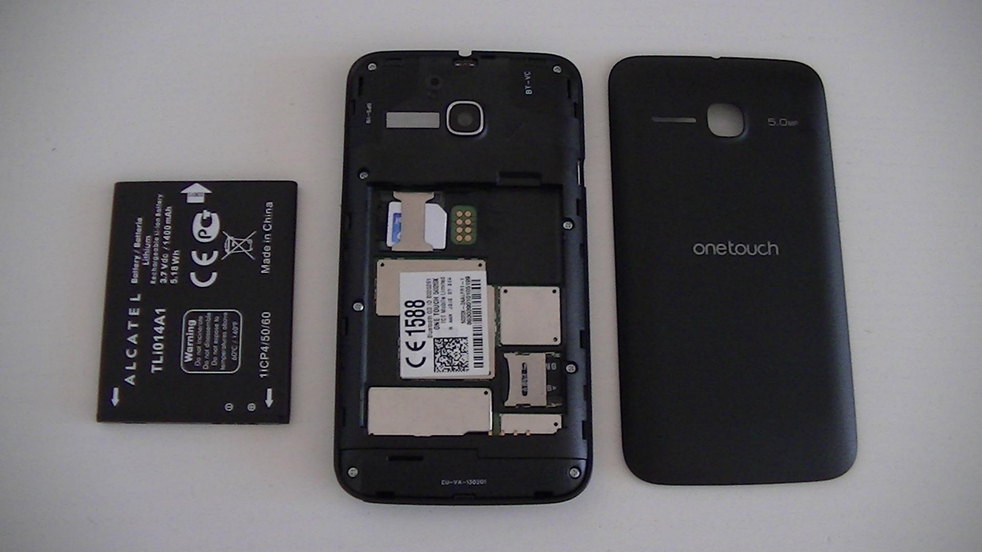 Test de l'Alcatel One Touch M'Pop : compact et pas cher   Top For Phone