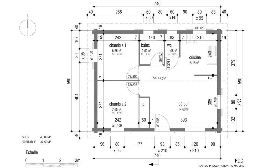 Bien connu Maison En U Plan. Maison En U Avec Patio Plans Maisons Pinterest  FX22