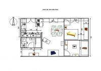 Plan Maison 50m2 2 Chambres Plan De Maison 50m2 Plein Pied