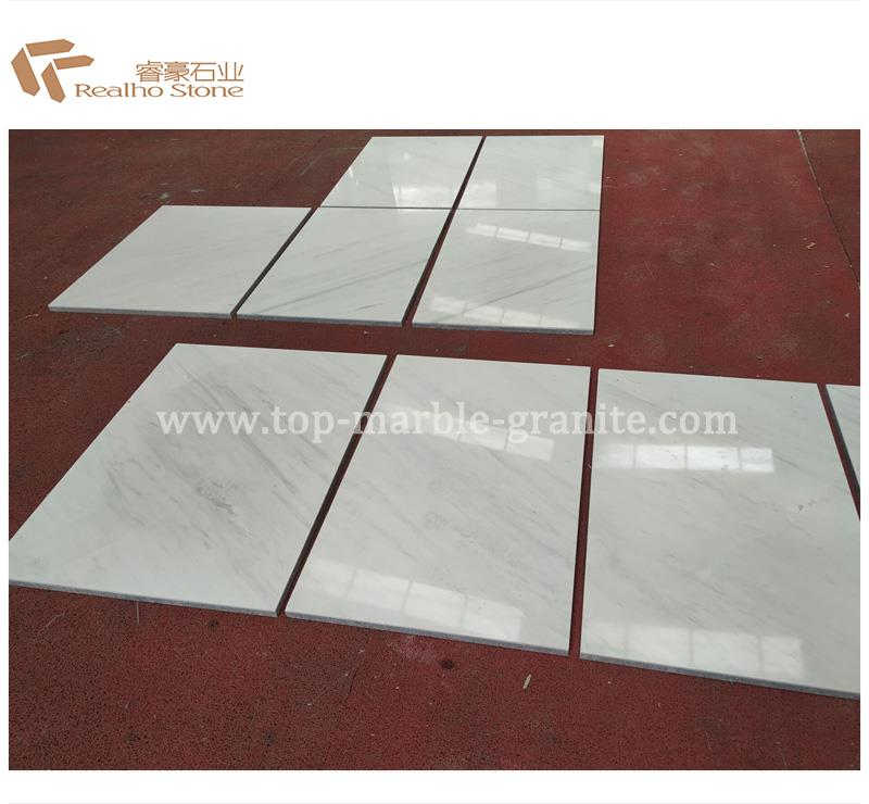 Ariston White Marble Composite Tile Suppliers and Manufacturers China - Marble Composited Tiles - Realho Stone