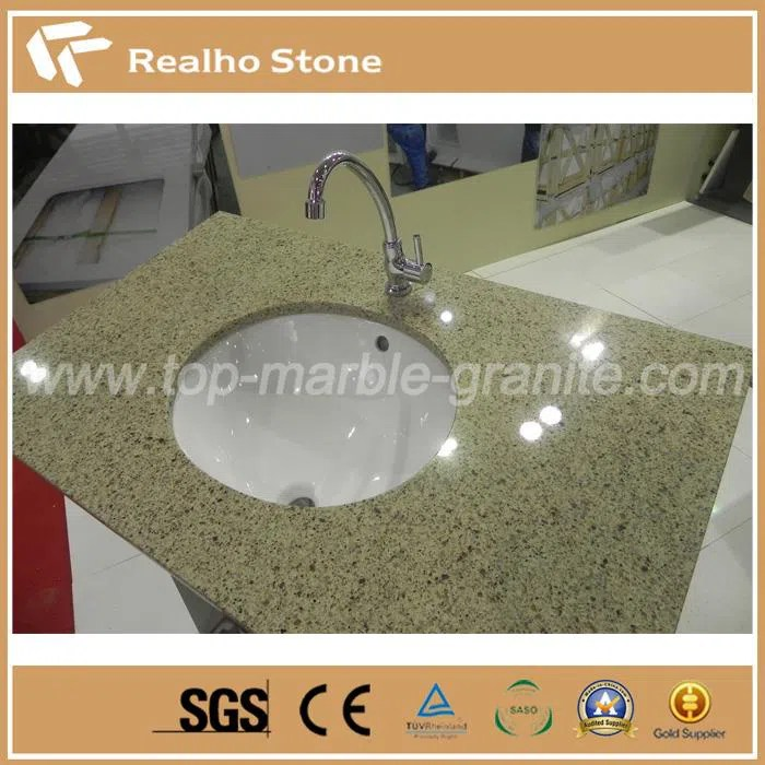 Polished Solid Surface Beige Veins Quartz Stone For Bathroom Vanity Tops Suppliers And Manufacturers China Cheap Price Realho Stone