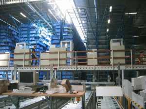 Gestion automatisée d'un entrepôt de pièces détachées