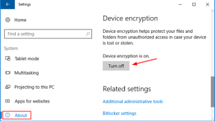 Disable Bitlocker Windows 10 | Password Recovery