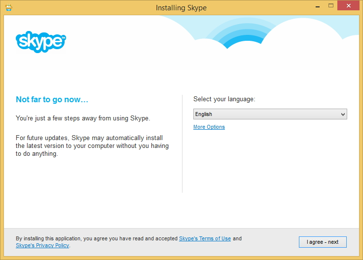 Windows installing skype failed; code 1638 when trying to.