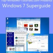 Take your PC skills to a whole new level with our Top-Windows-Tutorials.com Superguides