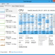 Using the Windows 8 or Windows 10 Task Manager