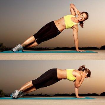 Kuvahaun tulos haulle Abs: Side Plank with a Twist