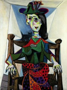 Dora Maar Au Chat by Pablo Picasso