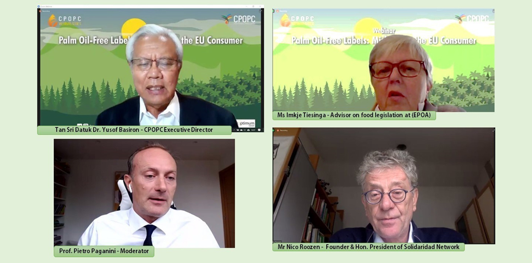 The Council of Palm Oil Producing Countries Hosts Webinar To Educate EU Consumers On Misleading Palm Free Oil Practices