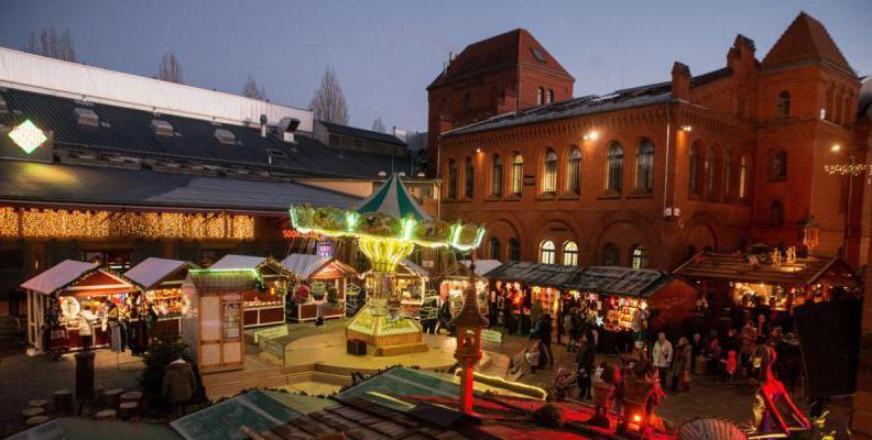 Lucia Weihnachtsmarkt in der Kulturbrauerei