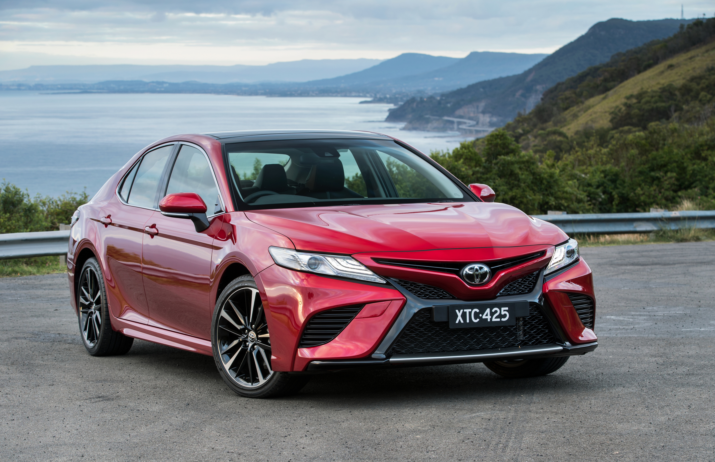 all new toyota camry 2019 indonesia perbedaan grand avanza e dan g 2016 2018 pricing and equipment detailed for