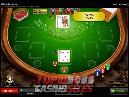 Top 10 Real Money Blackjack Sites – Blackjack Online Casinos