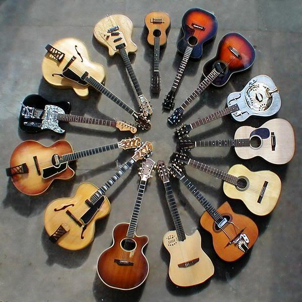 Las 10 mejores marcas de guitarras