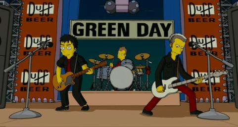 Green Day en Los Simpsons