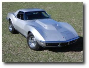 7. Chevrolet Corvette L88 Roadster 1968