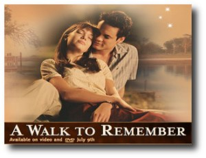 4. A walk to remember