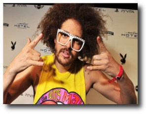 4. Redfoo of LMFAO