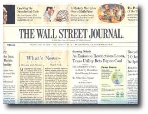 4. The Wall Street Journal