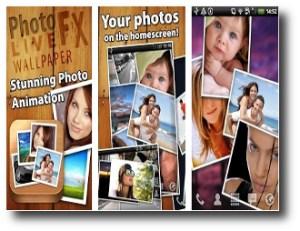 9. Photo FX Live Wallpaper