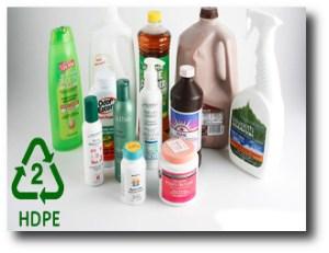 6. Botellas de plastico HDPE