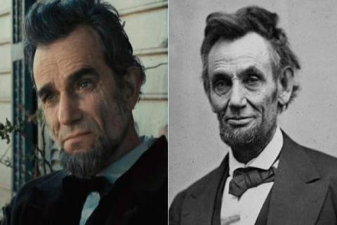 Danile Day-Lewis como Abraham Lincoln