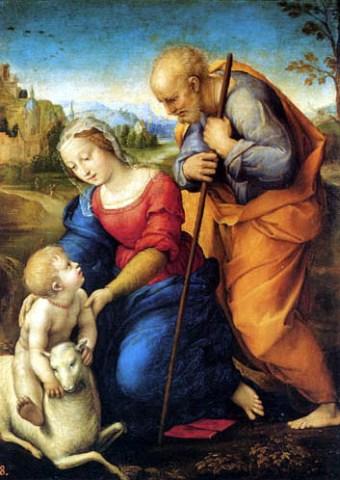 Sagrada Familia del cordero