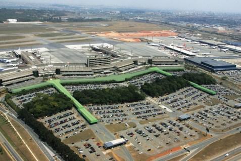 Aeropuerto Internacional Guarulhos de Sao Paulo
