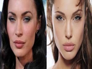 3. Angelina Jolie y Megan Fox