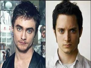 4. Daniel Radcliffe y Elijah Wood