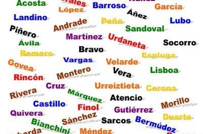 Los 10 apellidos más comunes del mundo