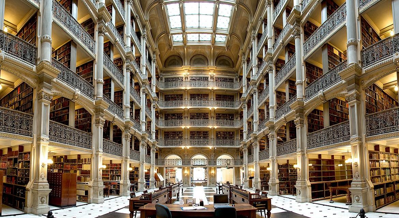 Las 10 bibliotecas más impresionantes del mundo