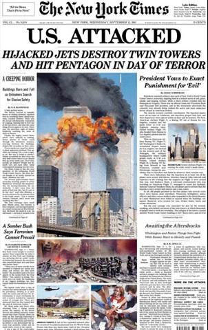 Las 10 mejores portadas en la historia de The New York Times