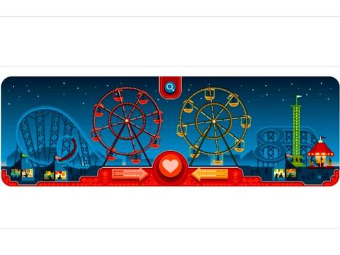 Día de San Valentín y el cumpleaños 154 de George Ferris