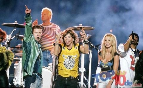 Aerosmith, N´sync y Britney Spears