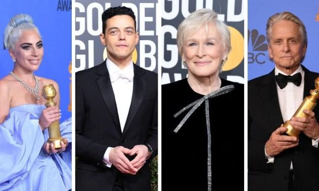 La lista completa sobre los Ganadores de los Globos de Oro 2019