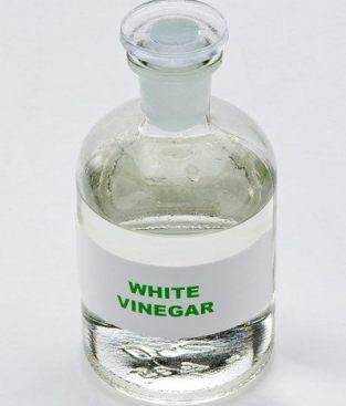 white vinegar bottle