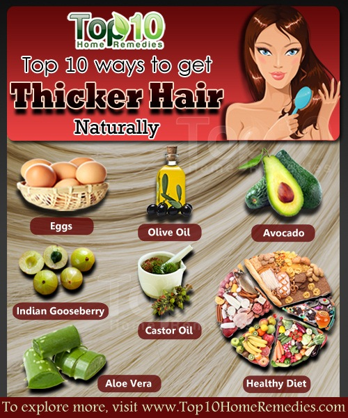 How To Get Thicker Hair Naturally Page 2 Of 3 Top 10