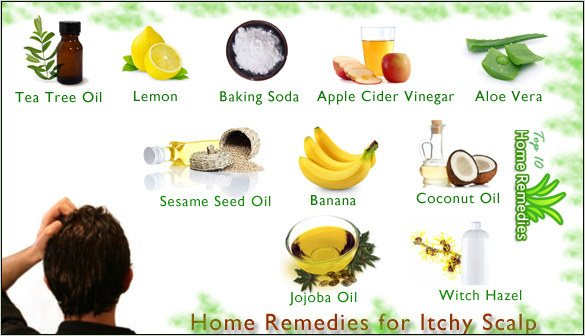 Home Remedies For Itchy Scalp Top 10 Home Remedies