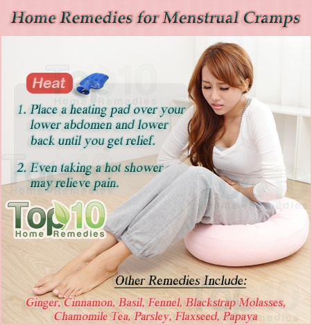 Home Remedies for Menstrual Cramps | Top 10 Home Remedies