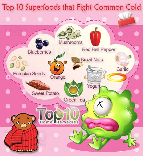 superfoods that fight common cold