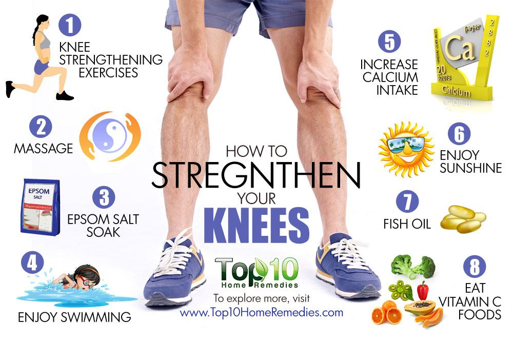How to Strengthen Your Knees  Top 10 Home Remedies