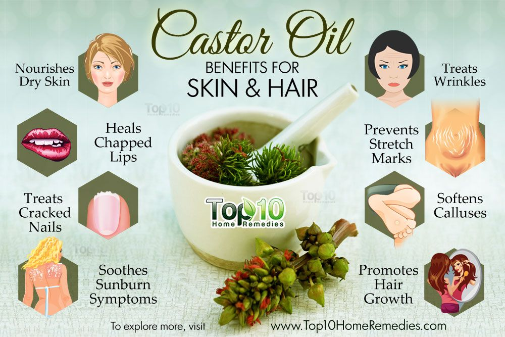 ... Castor Oil Beauty Benefits for Skin and Hair - The Science Of Eating