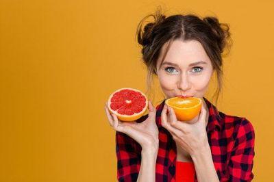 grapefruit para a pele