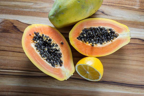 papaya for dark skin