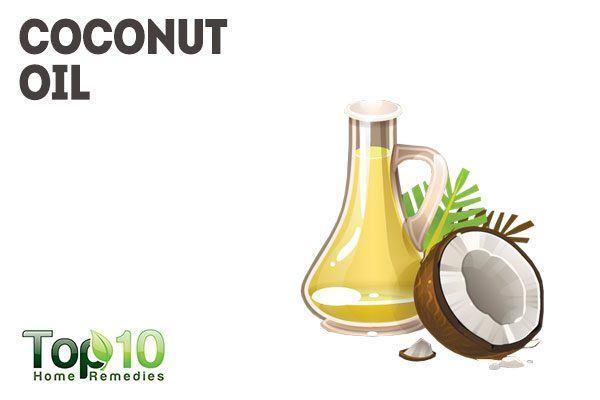 coconut oil for blotchy skin
